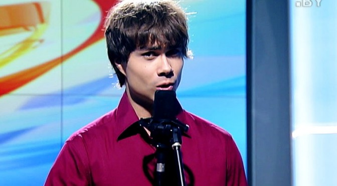 "Alexander Rybak – Interview and ""Let it Snow"" in the Belarusian morning show 23.12.2014."