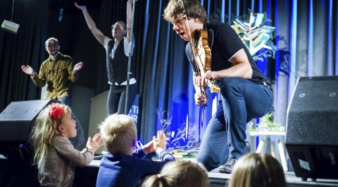 Alexander Rybak with Trolle show in Fredrikstad, Norway