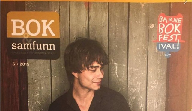 Alexander Rybak in the book magazine Book and Society June 2015