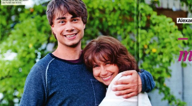 Alexander Rybak was once a lonely boy