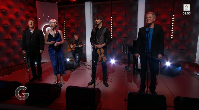 "Alexander and the other artists from ""Stille Natt Hellige Natt"" in God morgen Norge 23.11.2015"