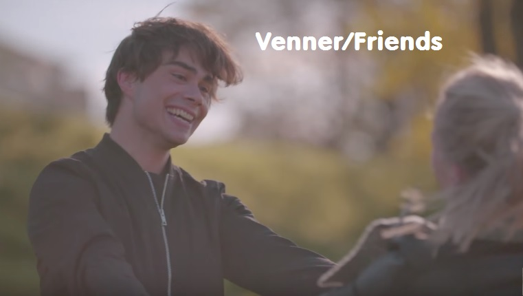 """Alexander and Pernille – """"Venner"""" with lyrics in several languages"""
