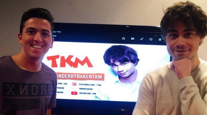 Alexander in a live stream broadcast on radio TKM, Argentina 27.04.2016