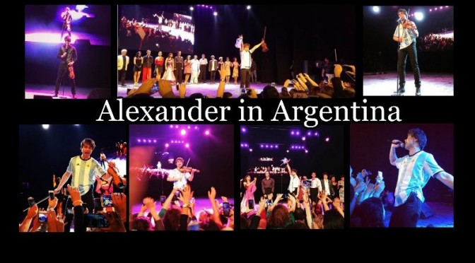 Videos from the concert in Buenos Aires, Argentina, 29.4.2016