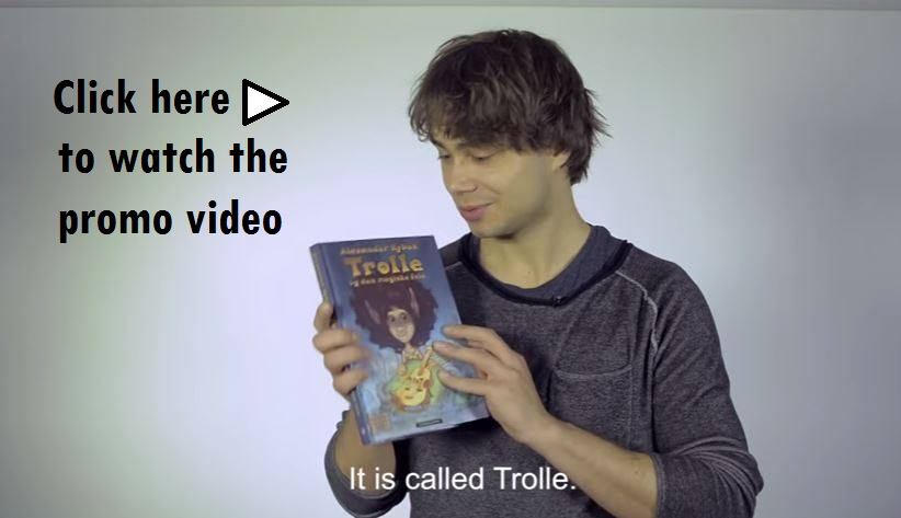 Alexander Rybak promo video of Trolle Cappelen Damm