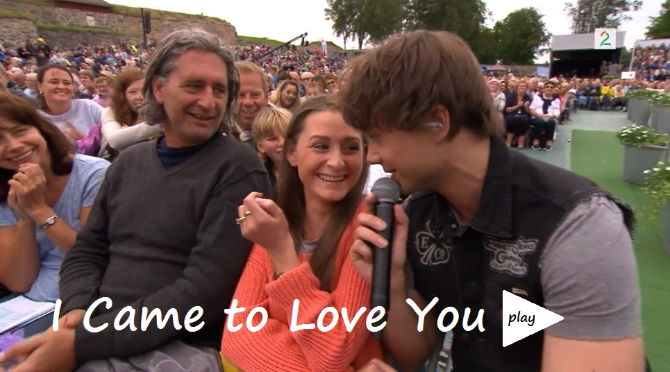 Alexander Rybak julie Gaarud Holm Allsang på grensen 2016 I Came to Love you