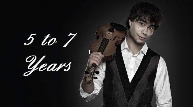 5 to 7 Years – Where to get Alexander Rybak's gift to his fans