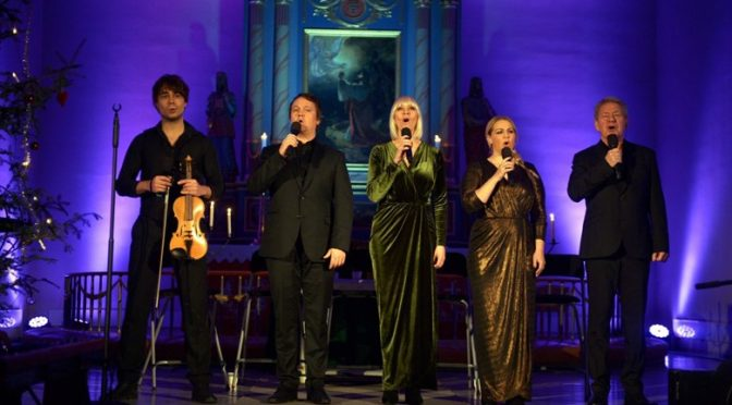 Stille Natt Hellige Natt concert at Brumunddal church 21.12.2016