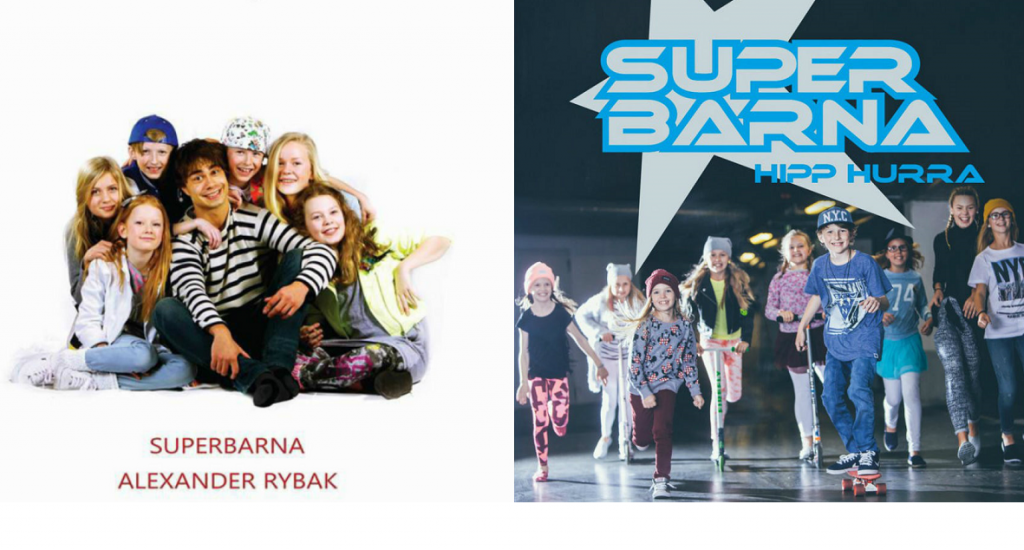 "Superbarna nominated for Spellemann Award with ""Hipp Hurra"", and Alexander plays on the album"
