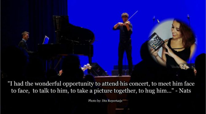 A fan report from Alexander Rybak's concert in Alfaz del Pi, pain 28.10.2017