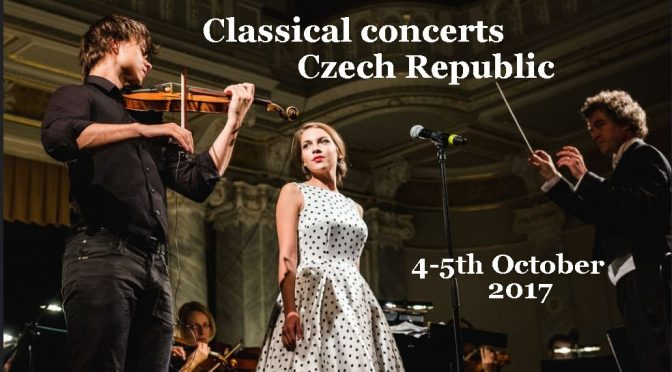 Alexander Rybak on tour in the Czech Republic, 4-5.10.2017