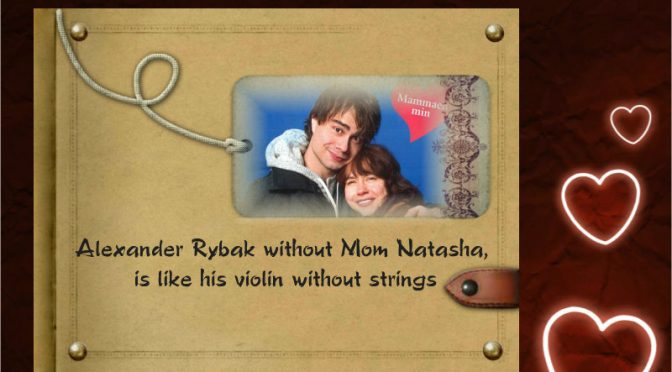 Natasha and Alexander Rybak about their close relationship, Her og Nå 13.2.2018
