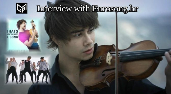 I like to experience music, without boundaries of genres – Alexander Rybak