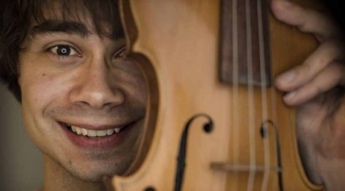 Alexander Rybak rebelled against classical music-VG newspaper article 7.4.2018