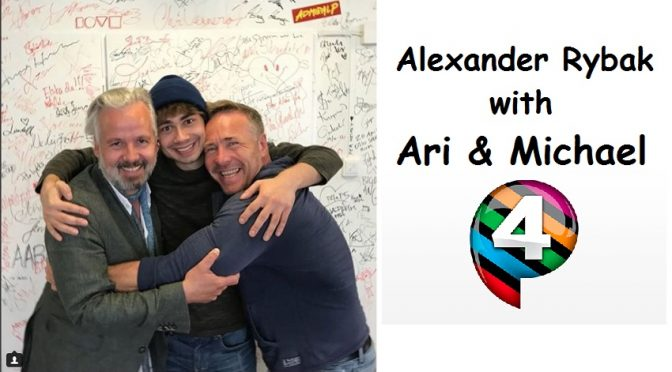 "Alexander interviewed by ""Ari & Michael"" P4 23.06.2018"