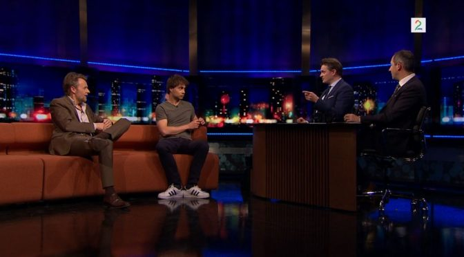 "Alexander Rybak in the Norwegian talk-show ""Senkveld"" 4.5.18"