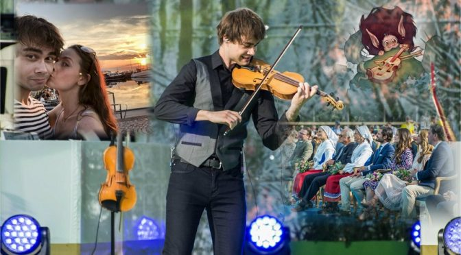 Alexander Rybak performed for Crown Princess Victoria – article in VG.no 15.07.2018