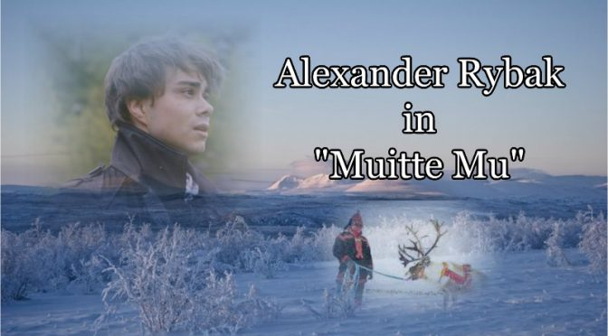 "Alexander Rybak in the TV-show ""Muitte Mu"""