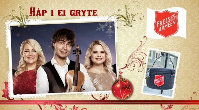 EVENT: Håp i ei gryte 2018 – Alexander Rybak and the other artists from Stille Natt Hellige Natt
